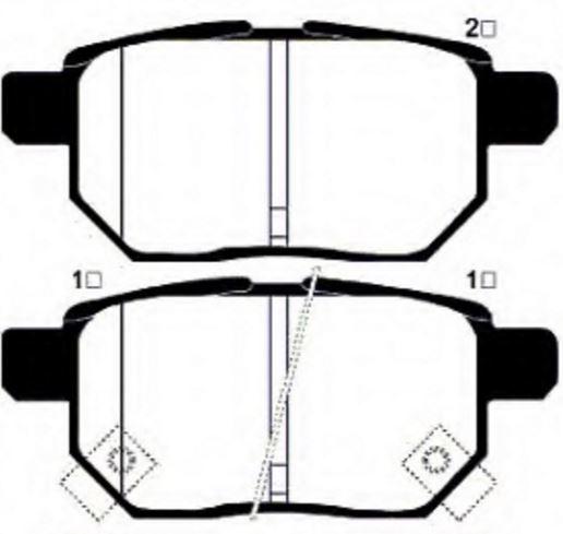 Brems BPADT342204 on 2013 Lexus Ct 200h